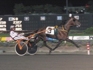 Mach Three - Meadowlands Pace - photo credit - CHRHF File Photo